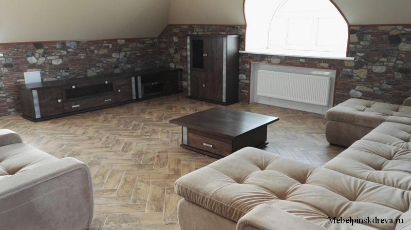 Интерьер с модульной мебелью Тунис